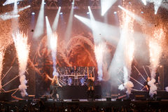 Nightwish at Masters of Rock 2015 Stock Photo