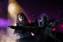 Nightwish at Masters of Rock 2015 Royalty Free Stock Photo