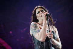 Nightwish at Masters of Rock 2015 Stock Image