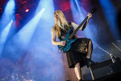Nightwish at Masters of Rock 2015 Royalty Free Stock Photo