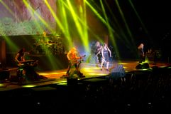 Nightwish a Palabam 2016 Fotografie Stock