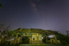 Nighty image at nongsa districts stock photography