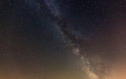 Nighty sky with milky way Stock Photography
