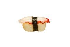 Nigiri bläckfisk Fotografering för Bildbyråer