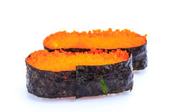 Nigiri d'Ebiko Nourriture du Japon Photographie stock