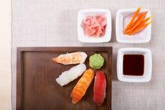 Nigiri do sushi Imagem de Stock Royalty Free