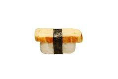 Nigiri omelett Royaltyfria Bilder