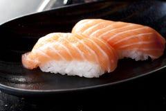 Nigiri salmon Royalty Free Stock Photos