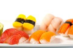 Nigiri sushi Arkivbild