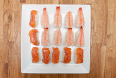 Nigiri sushi Stock Photography