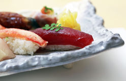 Nigiri sushi Stock Photos