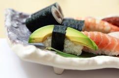 Nigiri-Sushi Lizenzfreies Stockfoto