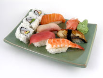 Nigiri sushi. A selection of nigiri sushi Royalty Free Stock Image