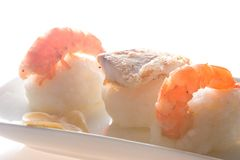 nigiri sushi zdjęcia stock