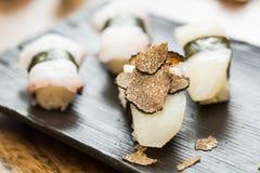 Nigiri sushi Stock Images