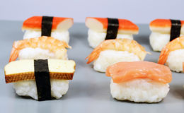 Nigiri sushi detail Stock Photography