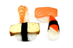 Nigiri sushi set Stock Photography