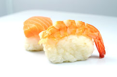 Nigiri sushi set Stock Photo