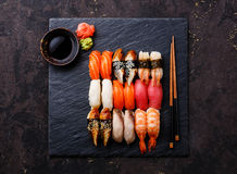 Nigiri Sushi Set Stock Image