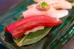 Nigiri sushi set Royalty Free Stock Image