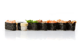 Nigiri sushi set Stock Images