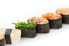 Nigiri sushi set Stock Photos