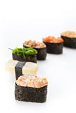 Nigiri sushi set Royalty Free Stock Image