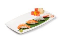 Nigiri Sushi set Stock Photo