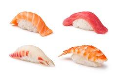 Nigiri Sushi set Royalty Free Stock Images
