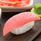 Nigiri sushi with tuna Royalty Free Stock Image
