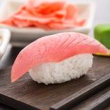 Nigiri sushi with tuna Royalty Free Stock Photography