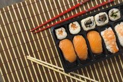 Nigiri und Sushi Lizenzfreie Stockfotografie