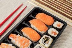 Nigiri und Sushi Lizenzfreies Stockbild