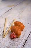 Nigiri van sushi royalty-vrije stock foto