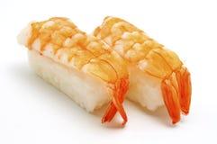 nigirizushi nigiri ebi Стоковые Фотографии RF