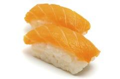 Nigirizushi (Salmon) Royalty Free Stock Images