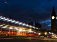 Nigth de Westminster Photos stock