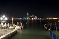 A nigth in Venice Royalty Free Stock Photos