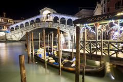 A nigth in Venice Royalty Free Stock Image