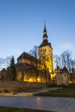 Niguliste church in Tallinn, Estonia royalty free stock photo