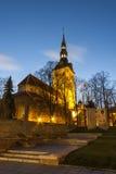 Niguliste church in Tallinn, Estonia Stock Photos