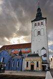 Niguliste Church, Tallinn, Estonia Royalty Free Stock Images