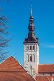 Niguliste Church. Tallinn, Estonia Royalty Free Stock Image