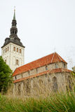 Niguliste Kirik. Tallinn, Estonia Royalty Free Stock Photography