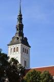 Niguliste. Nigulitse church in Tallinn, Estonia Royalty Free Stock Photos