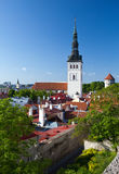 Niguliste. Old city, Tallinn, Estonia Stock Image