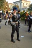 Nihal cosplayer Lucca Comics και παιχνίδια 2014 Στοκ εικόνες με δικαίωμα ελεύθερης χρήσης