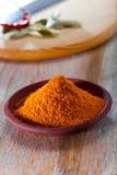 Nihari curry'ego mieszanka w teracotta naczyniu Zdjęcia Stock