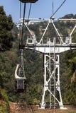 Nihondairaropeway kabelwagen Royalty-vrije Stock Afbeeldingen