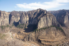 Nihong canyon Royalty Free Stock Images